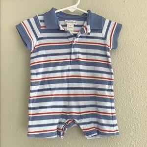 Ralph Lauren Striped Romper - 6 months
